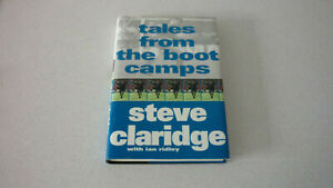 """Hand Signed-Steve Claridge """"Tales From The Boot Camps""""-1997."""