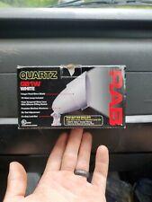 New listing Rab Lighting Qb1W White Outdoor Quartz Light / Bullet New