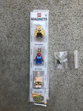 Lego Spongebob Magnet Set BRAND NEW Damaged Box Spongebob Mr Krabs Patrick
