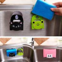 Carton Dish Cloth Sponge Holder With Suction Home Decor Dinning Room kitchen LY