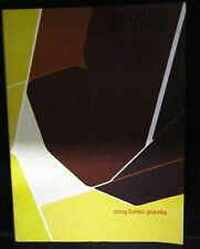 Derriere Le Miroir / cinq livres graves No 207 January 1974 First Edition