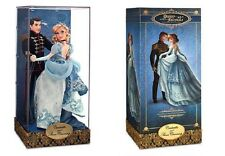 Disney Limited Edition Cinderella & Prince Charming Designer Fairytale Couple