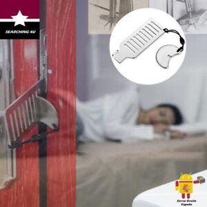 CERRADURA PORTATIL DE VIAJE ANTIRROBO PANICO SEGURIDAD INTIMIDAD HOTEL. ESPAÑA