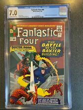 FANTASTIC FOUR No.40 (Marvel 1964) CGC 7.0  DOOM & DAREDEVIL