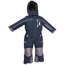 Schneeoverall Outburst Overall Kinder Skianzug winddicht wasserfest blau Gr. 122