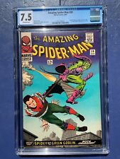 AMAZING SPIDER-MAN 39 CGC 7.5 OW PAGES CLASSIC COVER