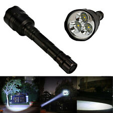 Ultra Bright 3800Lumen 5 Modes 3x T6 LED Flashlight 18650 Torch Light Lamp
