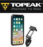 Topeak RideCase TT9855BG iPhone X 10 Smart Phone Holder Case & Bike Bar Mount