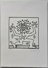 KEITH HARING Etching hand signed