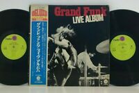 Grand Funk – Live Album 2LP 1970 Japan Capitol CP-9485B Hard Rock VINYL w/ obi