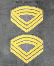U.S. Civil War CS Confederate South Cavalry Sergeant Major Rank Uniform Chevrons