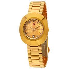 Rado Original Yellow Gold Dial Ladies Watch R12416643