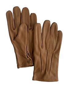 Men's Real Leather Driving Gloves Biker Costume Cospslay Medieval Formal Dress