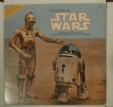 """New listing FACTORY *SEALED* The Story Of Star Wars LP VINYL 12"""" RECORD 1977 ORIG 1ST PRESS"""