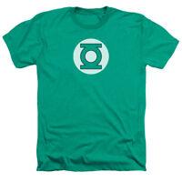 GREEN LANTERN LOGO Licensed Adult Heather T-Shirt All Sizes
