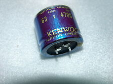Nippon 4700uF /63V 105°C Hi-fi hi-end audio Capacitors 35*30mm for KENWOOD NEW