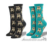 Womens Socksmith FRENCH BULLDOG socks One Size FRENCHIE lover stocking filler