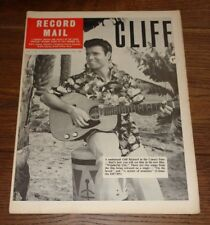 RECORD MAIL JULY 1964 CLIFF RICHARD ANIMALS MARY WELLS DONLINERS SECT