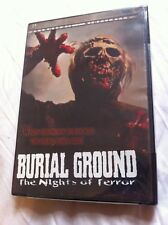 Burial Ground - 1981 Andrea Bianchi zombie film (New/sealed OOP region 1 DVD)