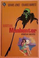 MARTIAN MANHUNTER: AMERICAN SECRETS #3 ~ VF 1992 DC COMICS ~ EDUARDO BARRETO ART