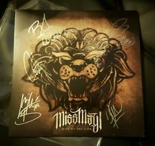 Rise of the Lion by MISS MAY I Colored Vinyl Album Signed Autographed by All