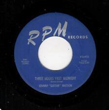 "BLUES-JOHNNY ""GUITAR"" WATSON-RPM 455-THREE HOURS PAST MIDNIGHT/RUBEN"