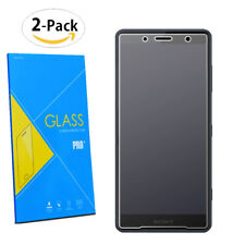 """For Sony Xperia XZ2 Premium 5.8""""- 2-Pack Tempered Glasses Screen Guard Protector"""