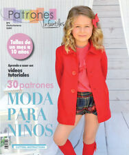 BOOK PATTERN SEWING Patterns MAGAZINE Winter baby girl boy toddler Spanish style