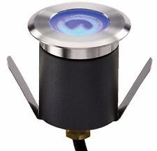 Knightsbridge IP65 230V 1W High Output LED Blue Mini Ground Light With Cable