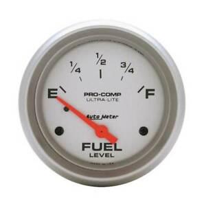 "Autometer Ultra-Lite 2-5/8"" Fuel Level 0-30 Ohm Gauge for pre-1965 Chevrolet/GM"