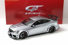 1:18 GT Spirit MERCEDES c63 AMG * BLACK SERIES * SILVER NEW in Premium-MODELCARS