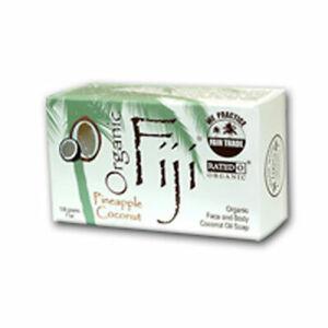 Organic Coconut Oil Face & Body Soap Pineapple Coconut,