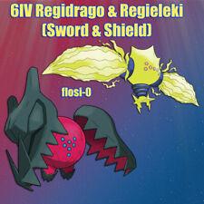 6IV Ultra Shiny Regidrago Regieleki Pokemon Sword and Shield