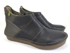 96365204e1291c EL NATURALISTA Leder Schuhe Halbschuhe knöchelhoch Boots NEU