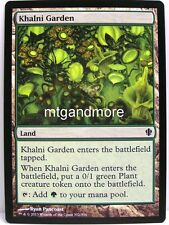 Magic commander 2013 - 4x Khalni Garden