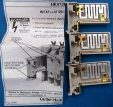 Cutler Hammer H2008B-3 Heater Pack, Standard Trip. Class 20 3.23 - 5.23 Amps