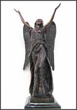 Bronzeskulptur, Engel, Gartendekoration, Grabdekoration
