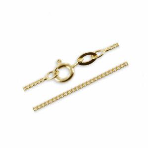 Gold Double Gelbgold Panzer Kette 36- 60 Halskette vergoldet Herren Damen Kinder