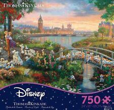 Thomas Kinkade Disney Puzzle 101 Dalmatians 750 Ceaco Puzzle