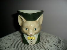 Vintage Fitz & Floyd Cat Kitten Toby Mug Cup Pitcher Hard to Find