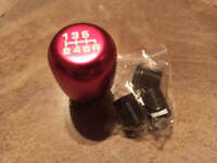 JDM RED Aluminium TYPE R 6 SPEED SHIFT GEAR KNOB HONDA CIVIC EP3 FN2 DC5 S2000 S