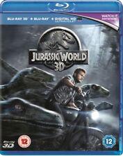 Jurassic World 3D y 2d Nuevo Blu-Ray (8306483)