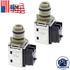 2 PCS  Transmission Shift Solenoid Set 1995 and Up 1-2 3-4 For GM 4T40E 4T45