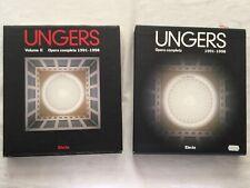 architettura UNGERS OPERA COMPLETA 1991-1998 Vol II ELECTA edilizia progetti