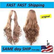 Beautiful Long  WIG - - - - FAST Shipping from Ohio - Light Brown extra long
