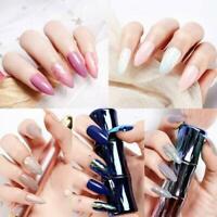 24Pcs/Set Round Fake Nails Nail Art Acrylic Artificial Press On False Nail Tips