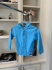 Weekend A La Mer Baby Boys Bright Blue Zip Hoodie Size 12 Months