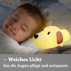 LED Nachtlicht Kinder Baby Nachtlampe Silizium Touch Licht für Baby