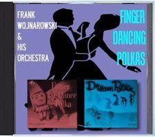 MZ 109 - Frank Wojnarowski & His Orchestra - Finger Dancing Polkas - POLKA CD