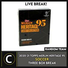 2020-21 Topps Merlin Heritage caja 95 Soccer 3 romper #S166 - equipos al azar